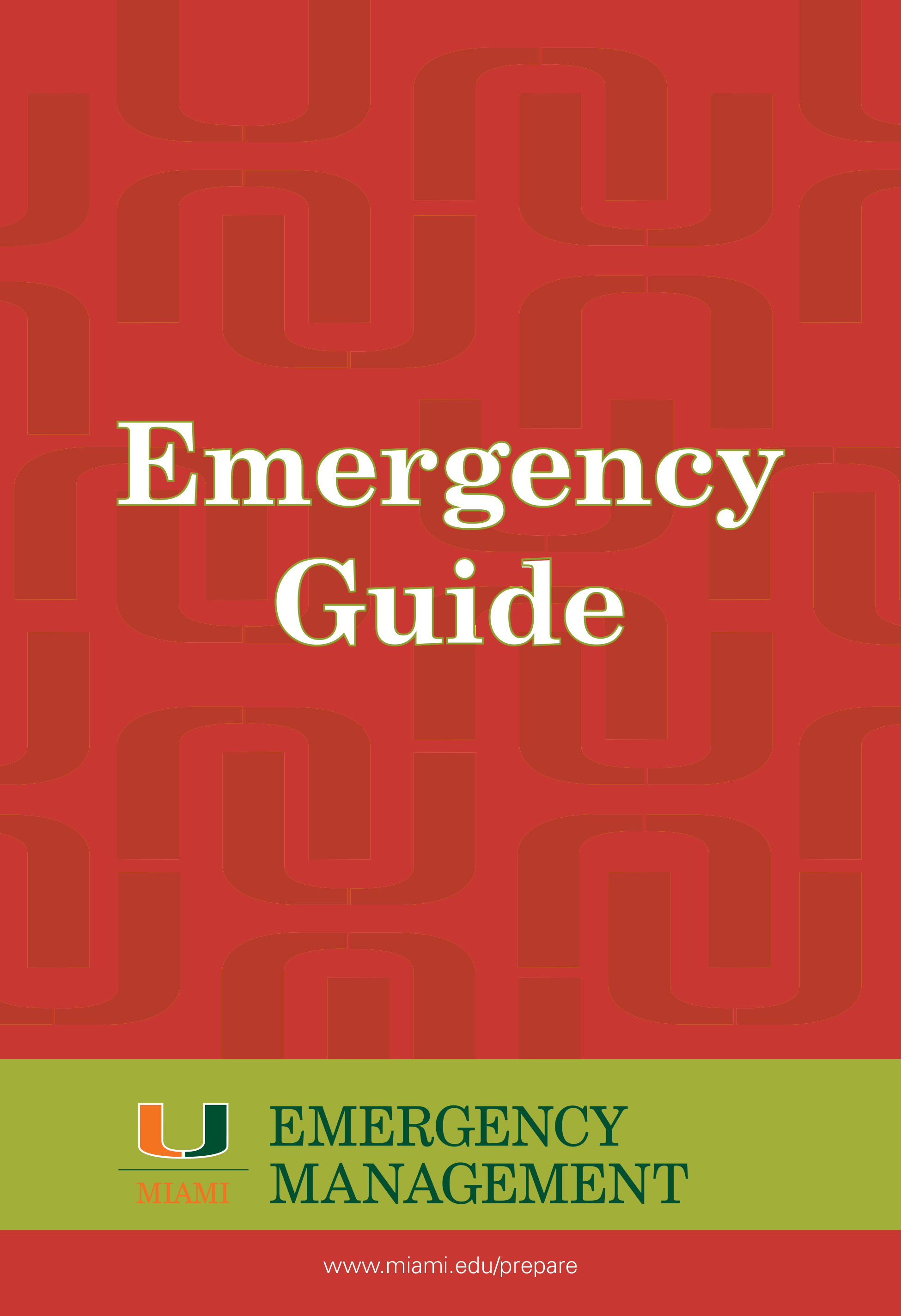 Emergency Guide Cover